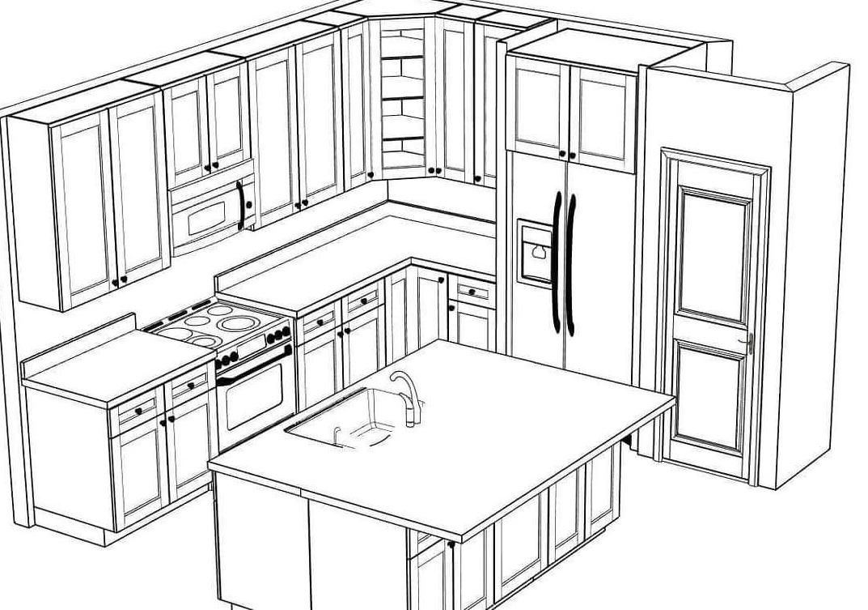 plan a kitchen renovation